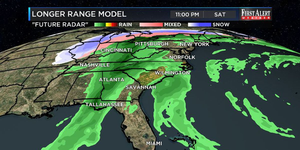 First Alert Forecast: warm, opportunities for storms