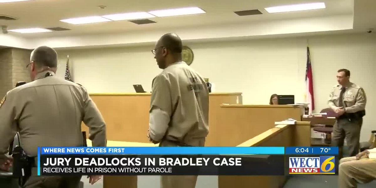 Bradley to face life in prison after mistrial declared in sentencing hearing