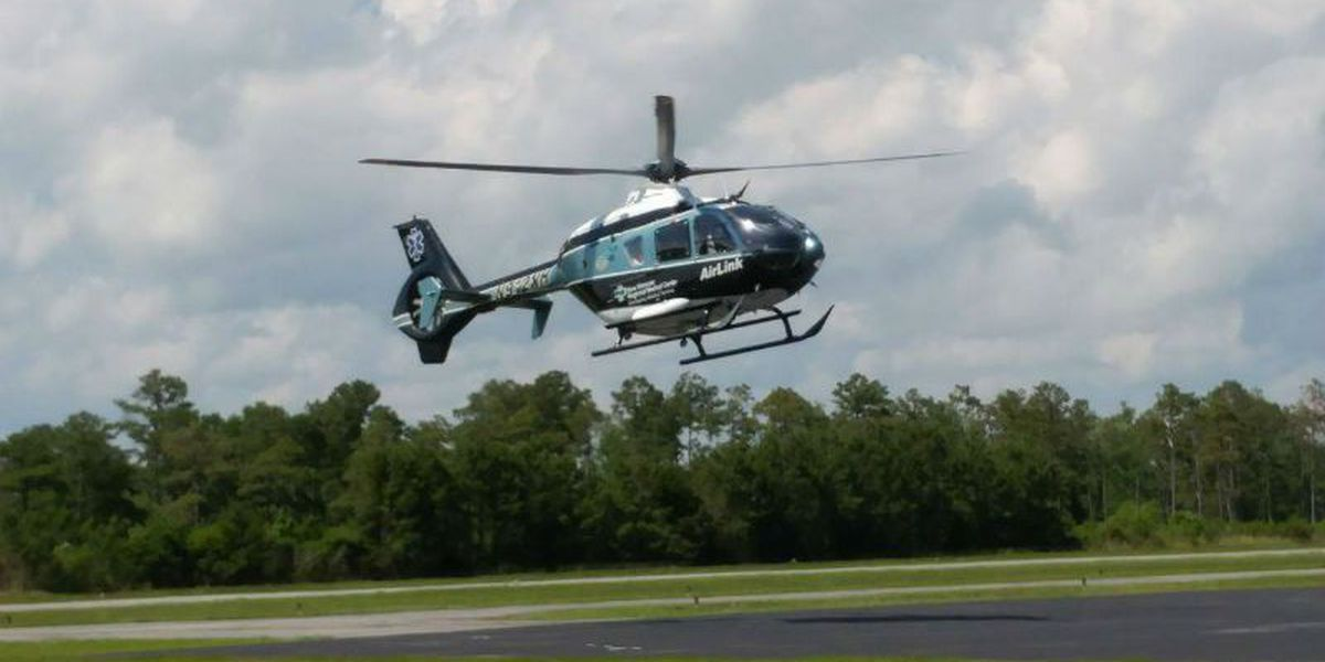 AirLink helicopters carrying blood during every patient flight