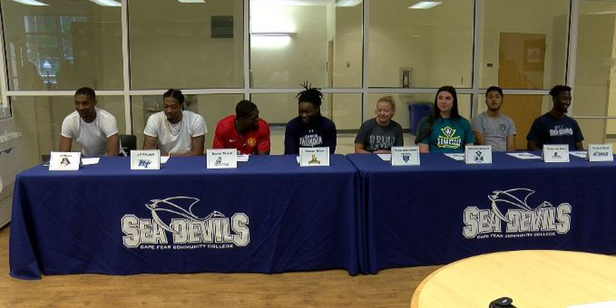 Cape Fear Community College hosts signing day