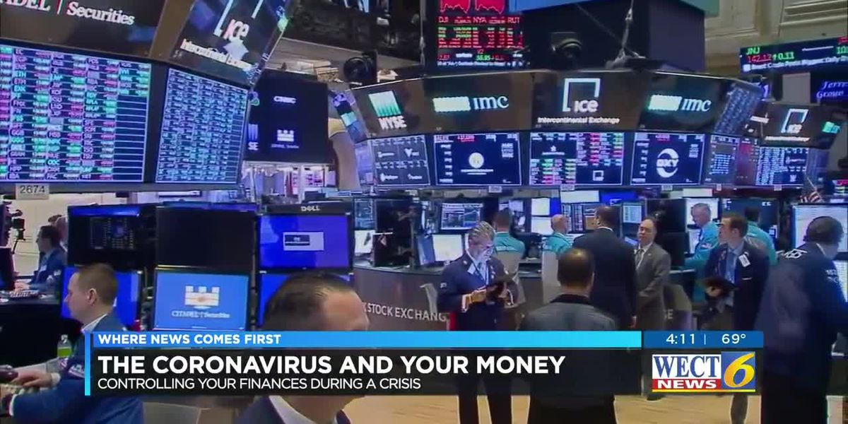 Financial expert urges calm as Dow closes 2,000 points down
