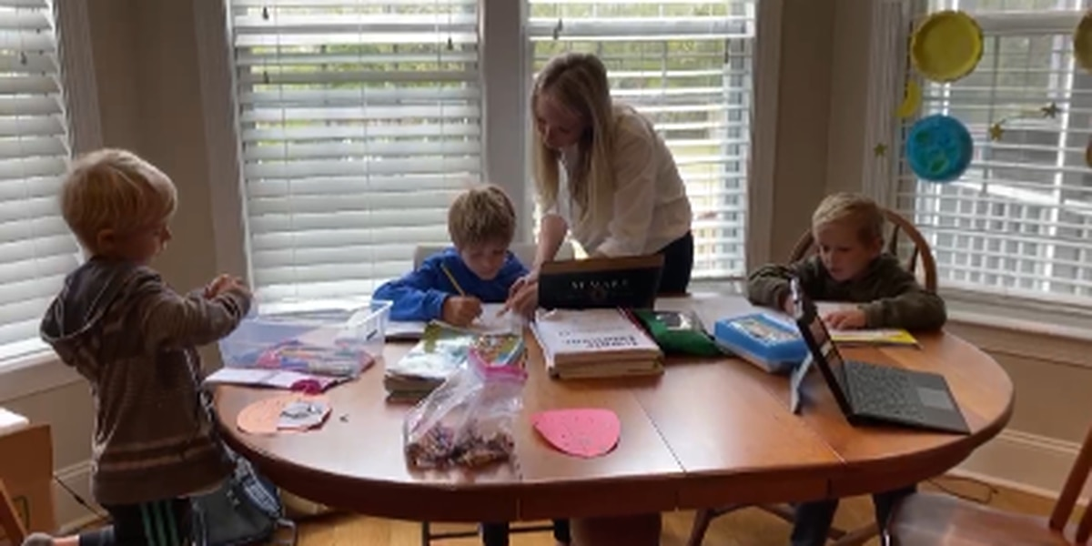 Balancing act: Working full-time while trying to home-school