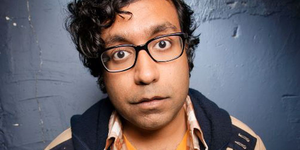 Hari Kondabolu comes back to Wilmington for shows at Dead Crow Comedy Room