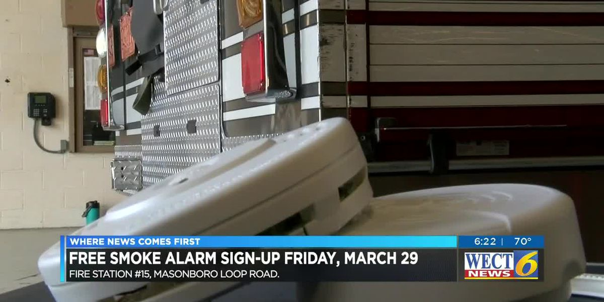 FREE SMOKE ALARMS: WECT to host Fire Safety Day with the American Red Cross