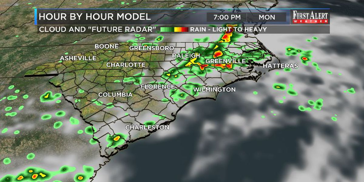 First Alert Forecast: pop-up storms at home, tropics more settled