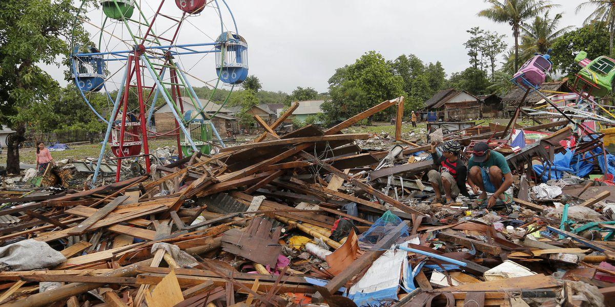 Indonesian tsunami kills hundreds