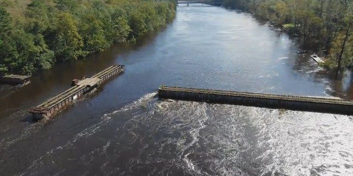 SKY TRACKER: A look over Castle Hayne after Hurricane Florence