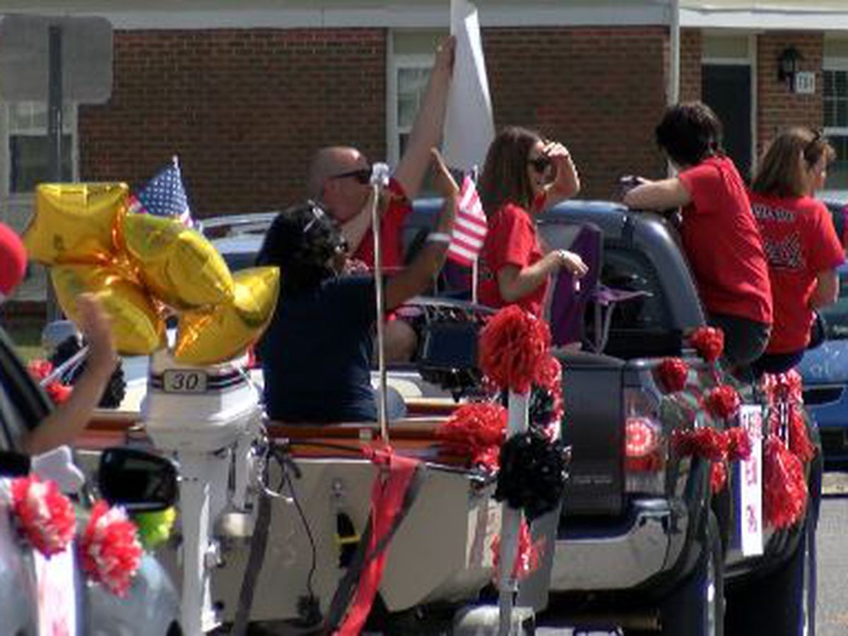 WPD, NHCS organize parade for Rachel Freeman School of Engineering students