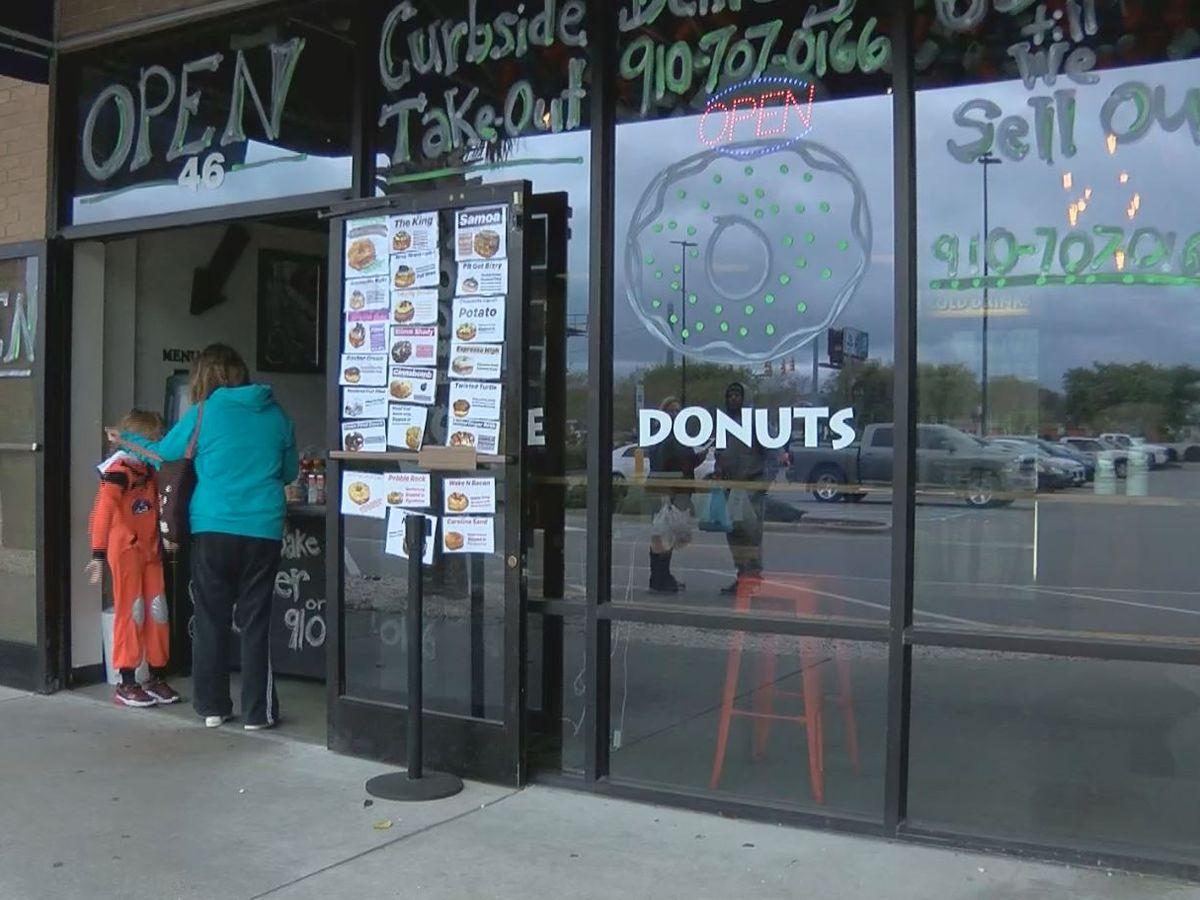 Carolina Beach donut shop adapts to life during COVID-19