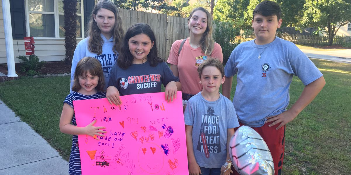 Neighborhood kids raise nearly $2,000 in 2 days to fix potholes on street