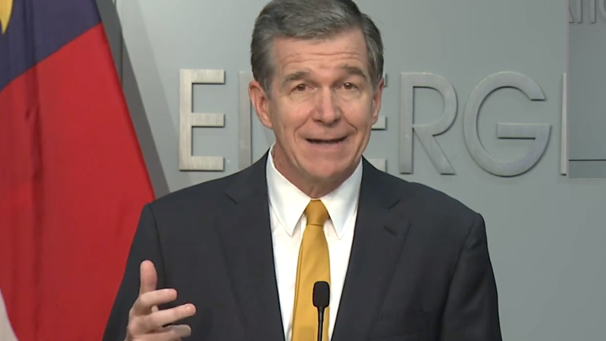 LIVE: Gov. Cooper to share update on COVID-19