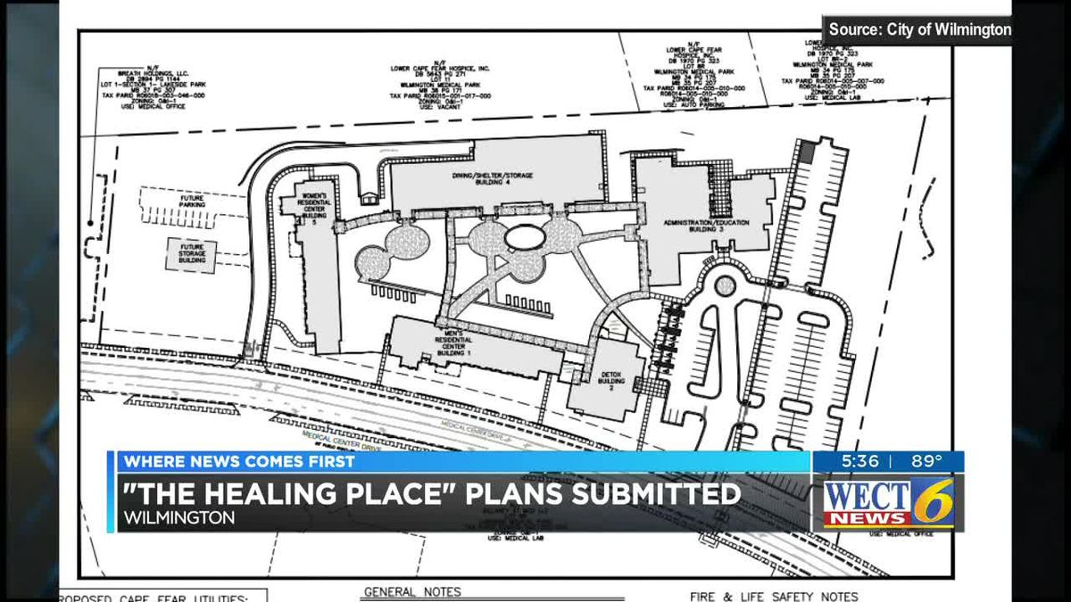 Healing Place plans submitted