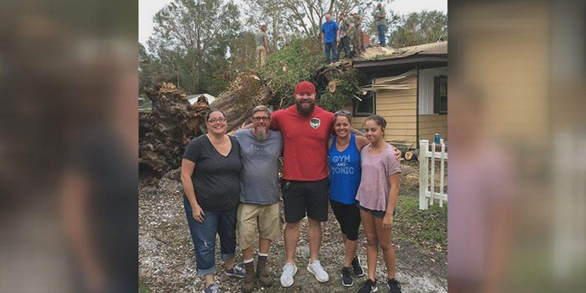 Hometown Hero: Lemonade stand leads to tree company removing 100-year-old tree from Florence damaged home for free
