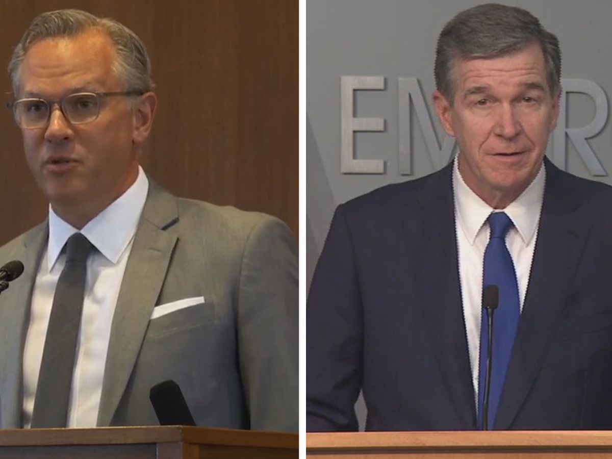Judge rules against Lt. Gov. Forest's attempt to limit Gov. Cooper's coronavirus orders
