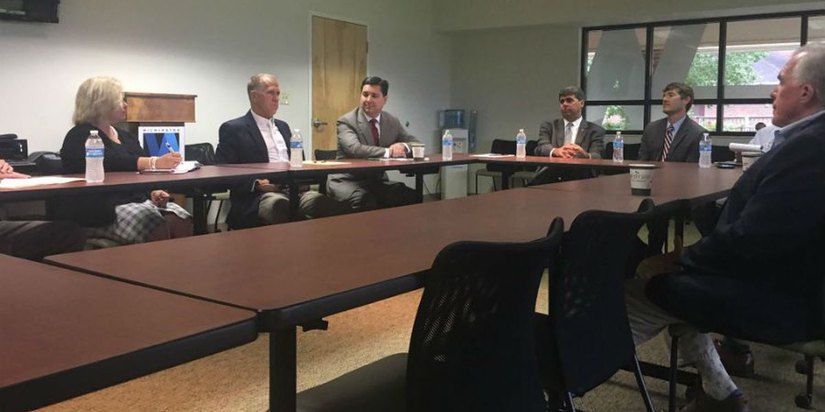 Tillis, Rouzer discuss tax reform bill with Wilmington business owners