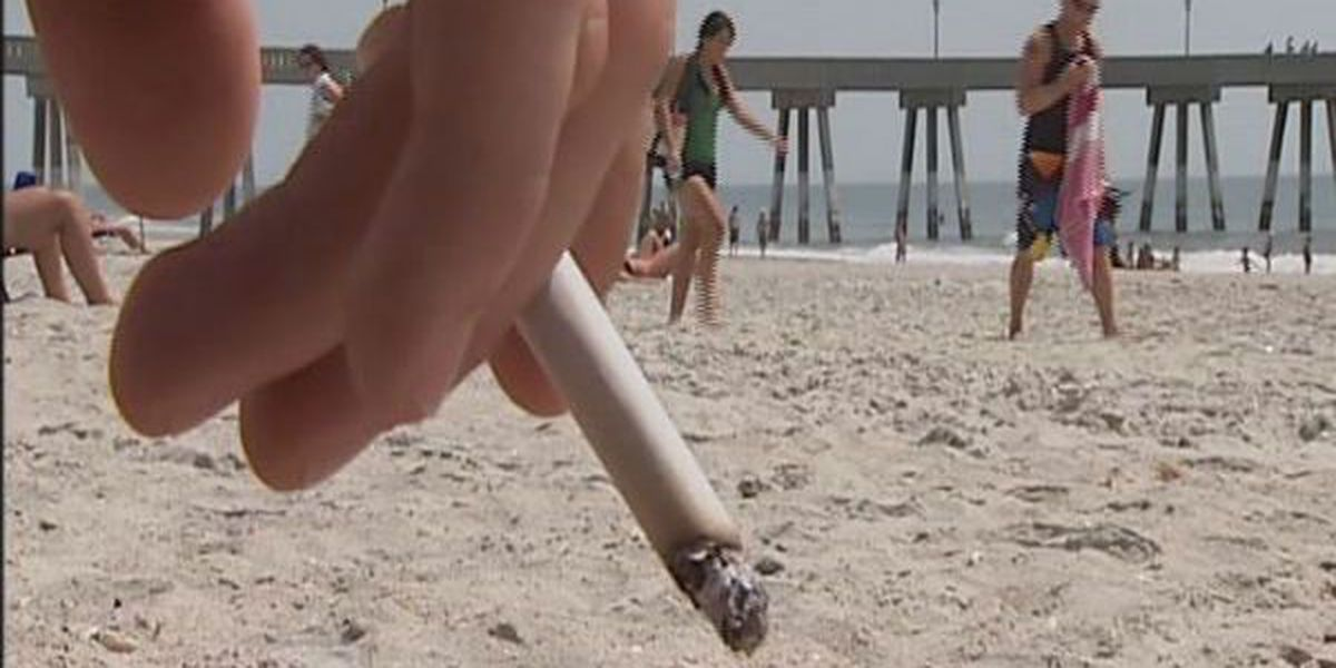 Surf City considers smoking ban on beaches
