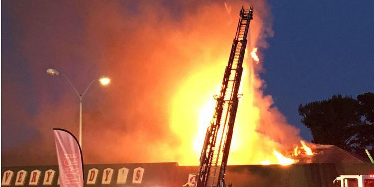 Fire destroys neighborhood grocery store