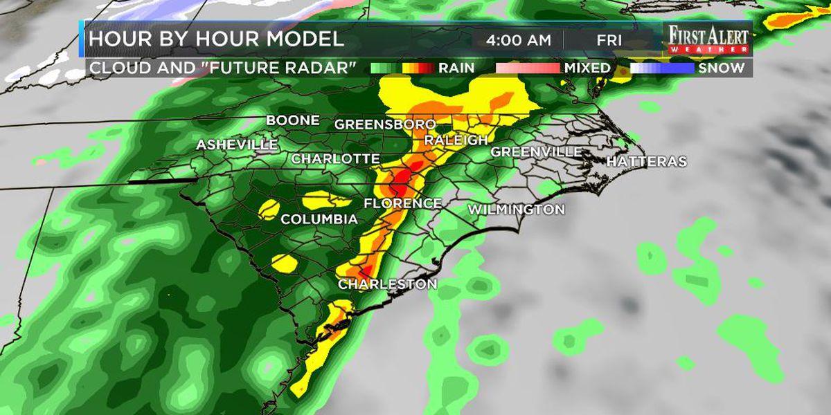 First Alert Forecast: Thursday storm threat becoming better defined