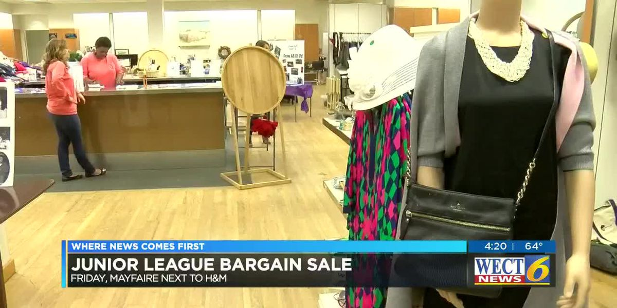 Feel fabulous and thrifty at the same time by shopping the Junior League of Wilmington's Bargain Sale