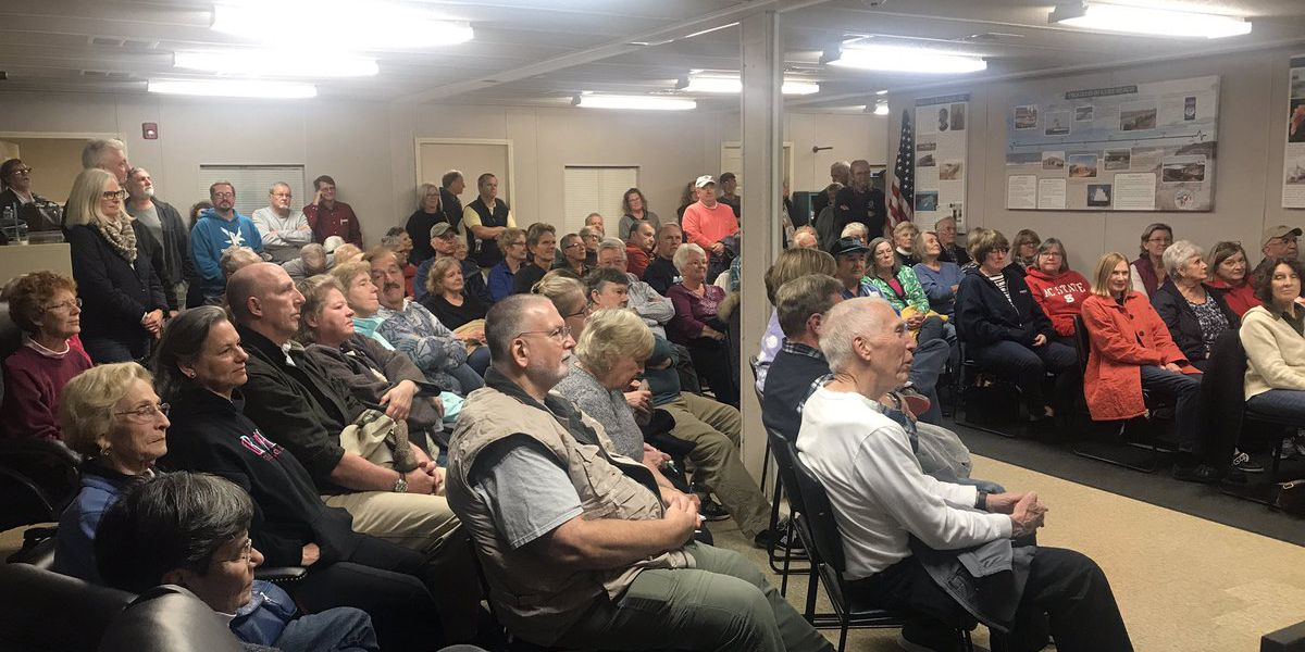 Large turnout for 'Living with Coyotes' meeting amidst problem in Kure Beach