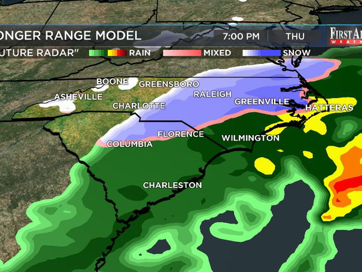 First Alert Forecast: rain to cold and perhaps a little snow