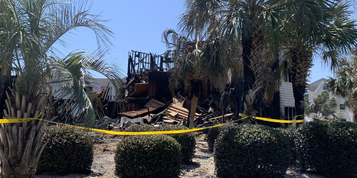 Arson not likely in Carolina Beach fire, investigators say
