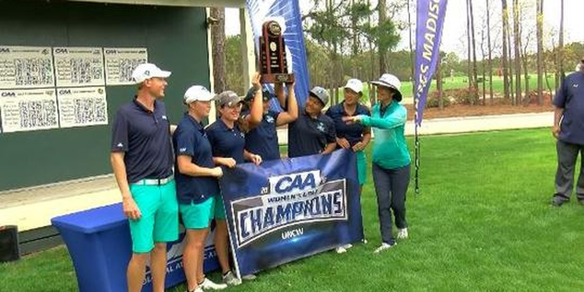 UNCW women's golf claims fifth CAA championship