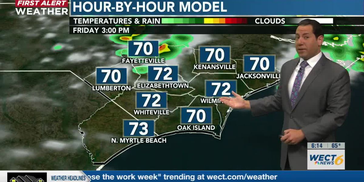 Your First Alert Forecast from early Thu., May 6, 2021