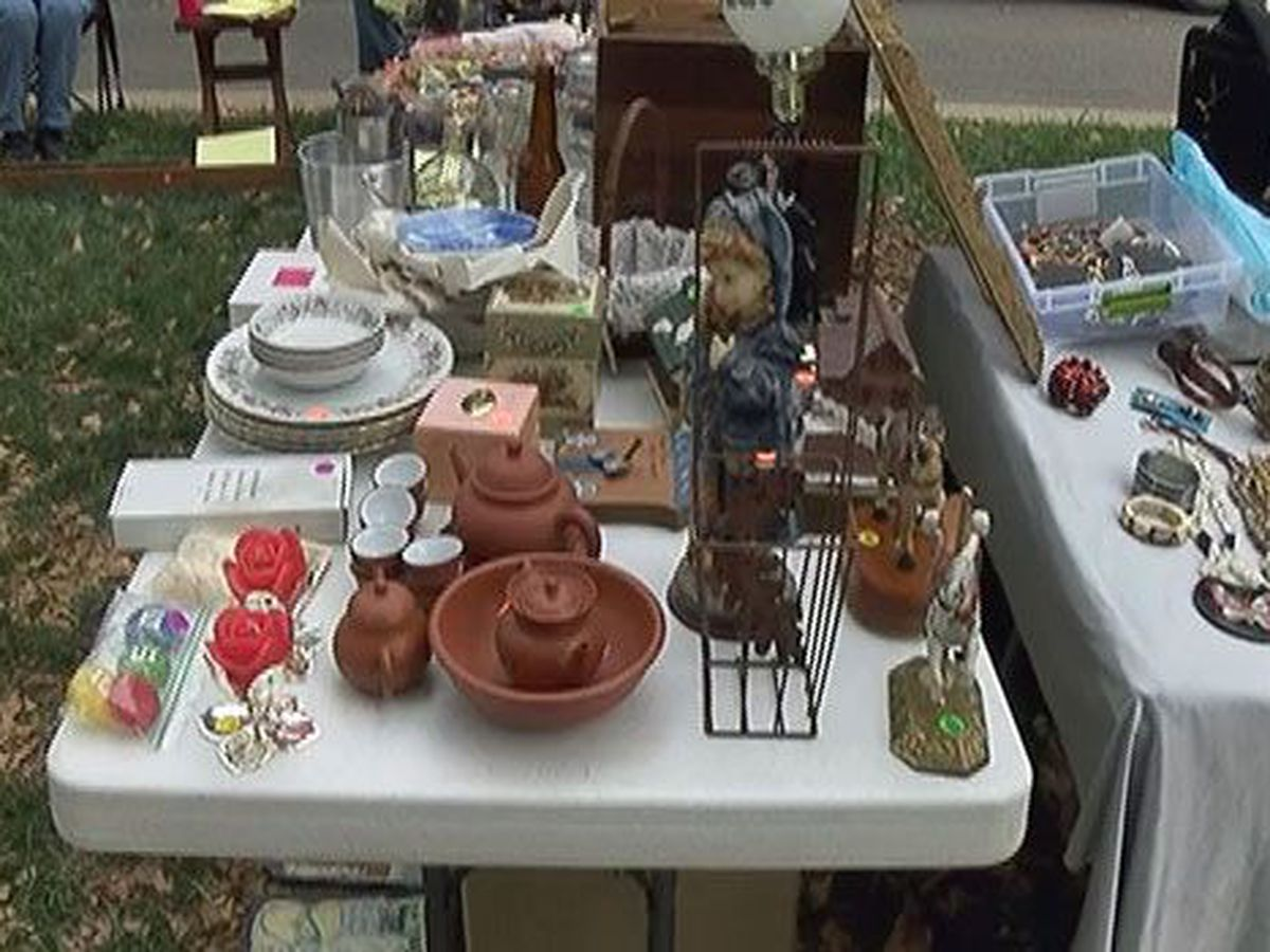 Yard sales May 18