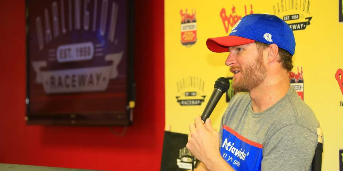 Dale Jr. planning to compete in upcoming Darlington race despite recent plane crash