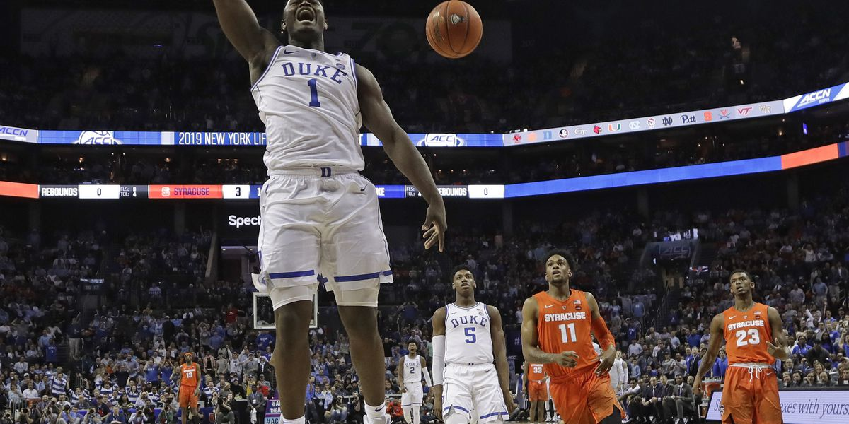 Williamson has 29 points in return, No. 5 Duke rolls in ACCs