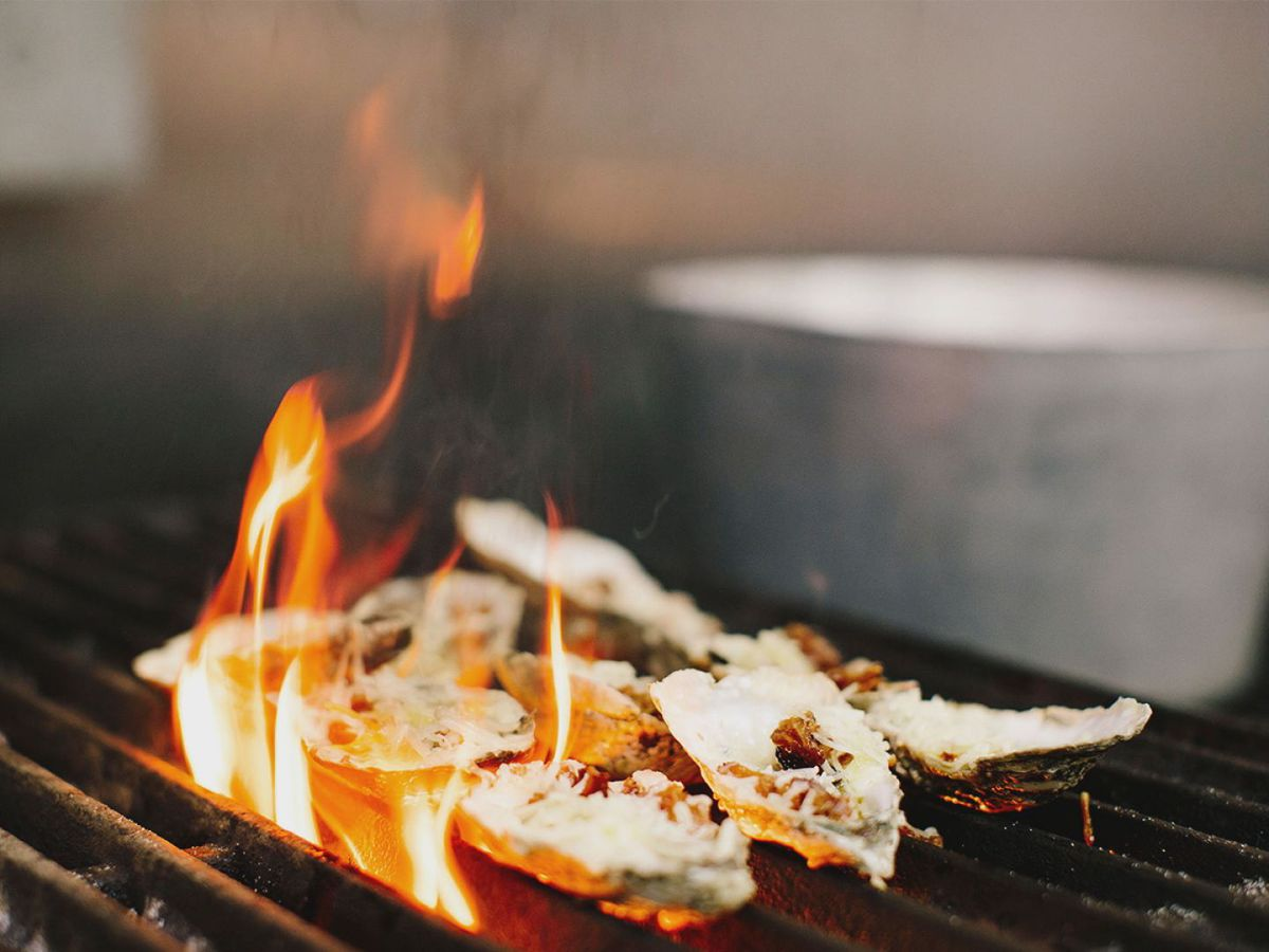 Shuckin' Shack shares recipes for chargrilled oysters, hangover fries
