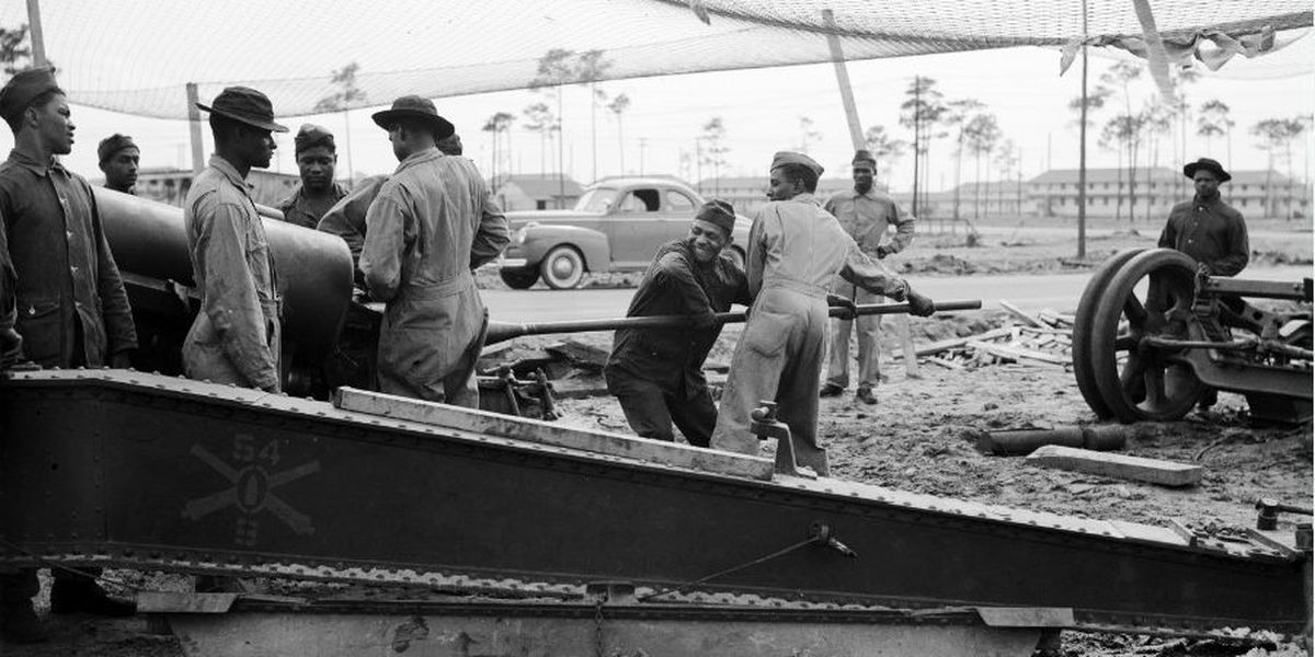 Black history: the 54th Coast Artillery regiment at Fort Fisher