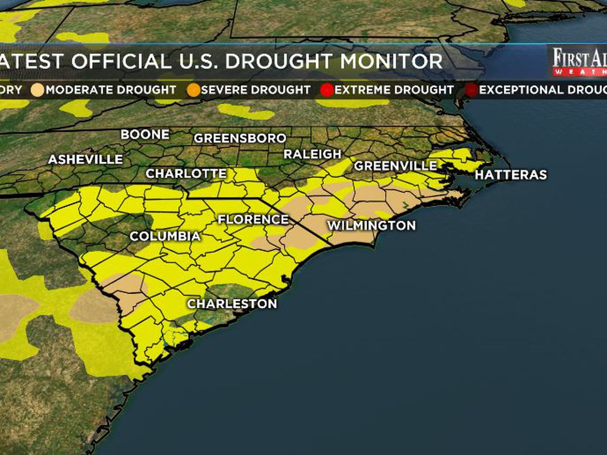 Drought lingers in the Cape Fear Region