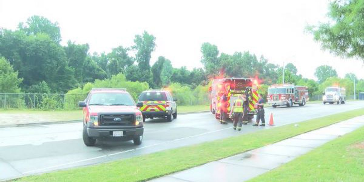 WFD responds to brush fire near Target