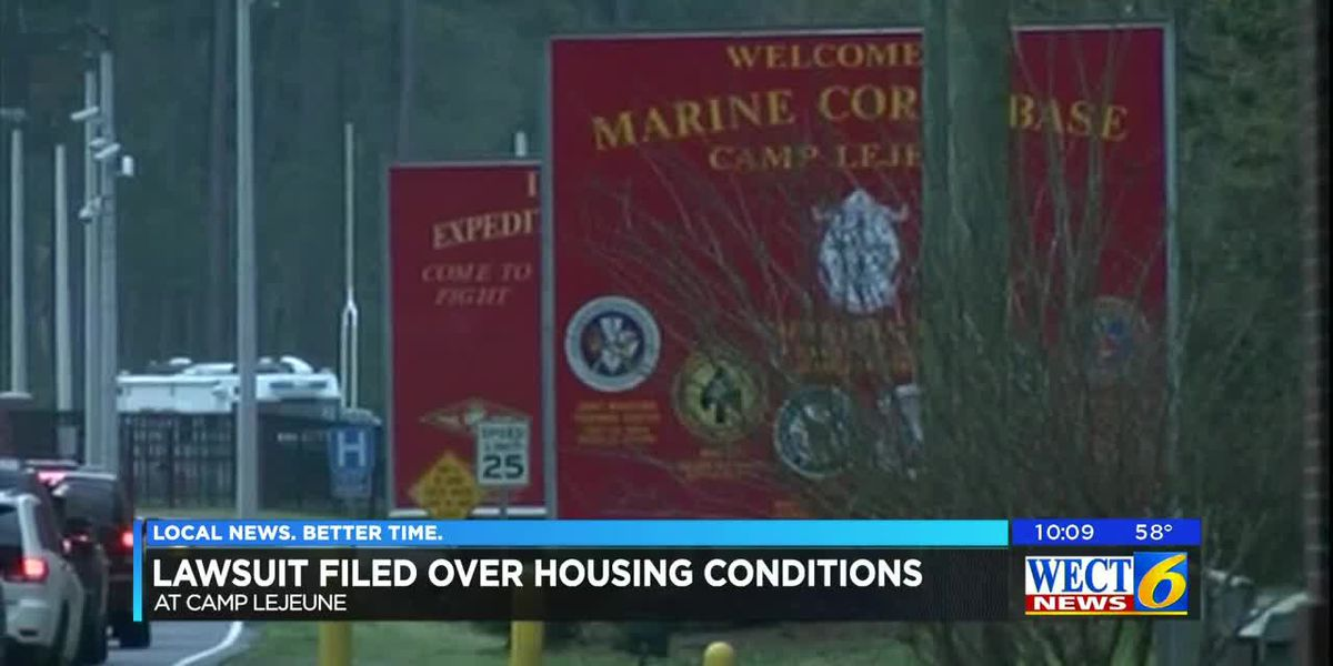 Lawsuit filed over housing conditions at Camp Lejeune