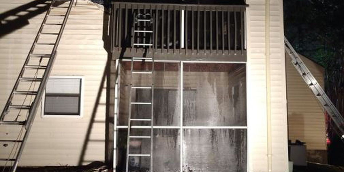 Dog dies, people escape in fire at Wilmington apartment complex