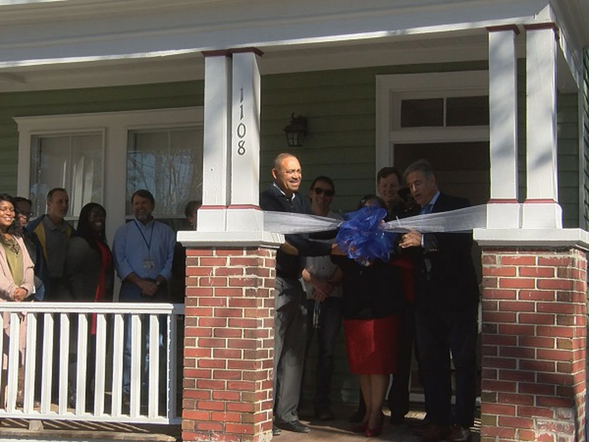 Affordable Housing Project rehabilitates Wilmington historic home
