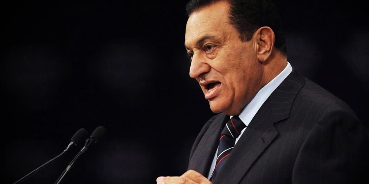 Former Egyptian president dies at 91