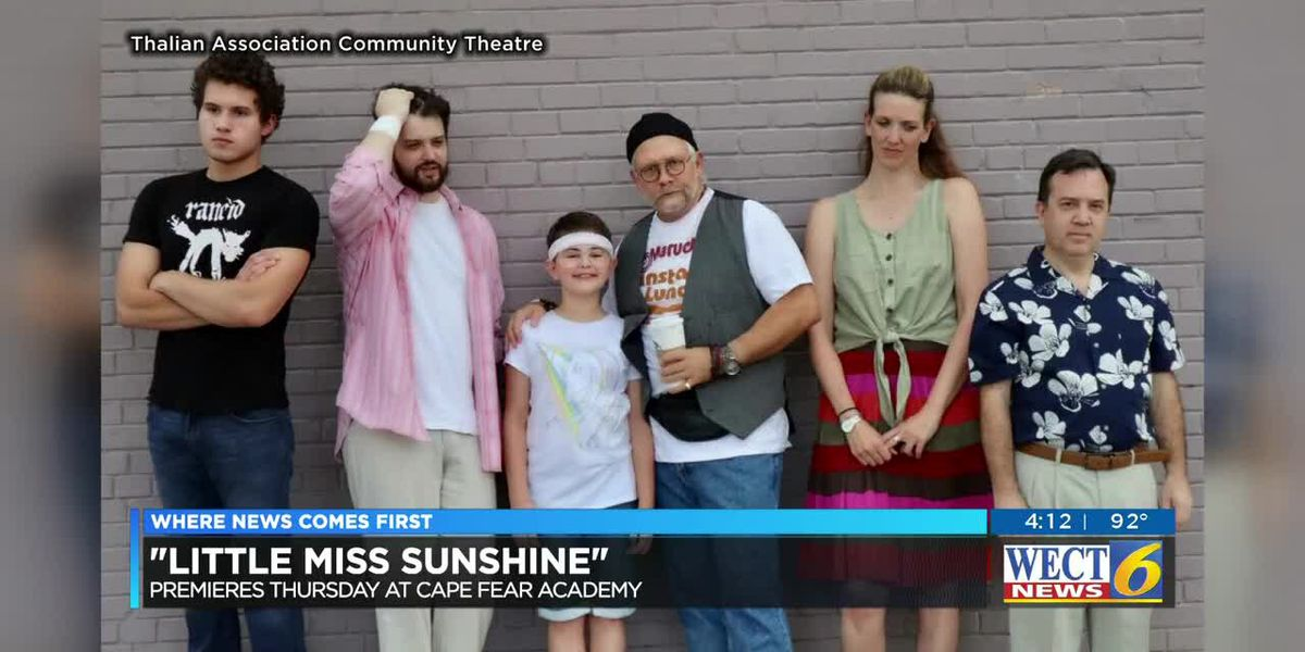 'Little Miss Sunshine' brings laughs in musical comedy on stage this week in Wilmington