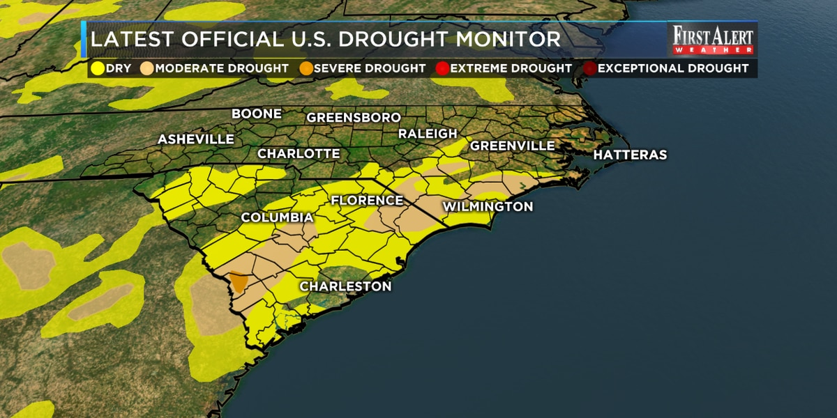 Drought designation virtually wiped out thanks to Hurricane Dorian