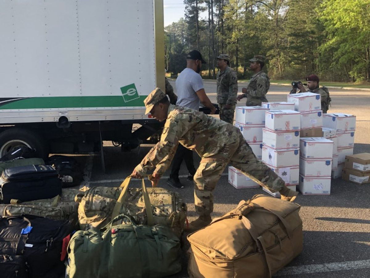 Fort Bragg soldiers head to NYC to help as city reports deadliest day of COVID-19 pandemic
