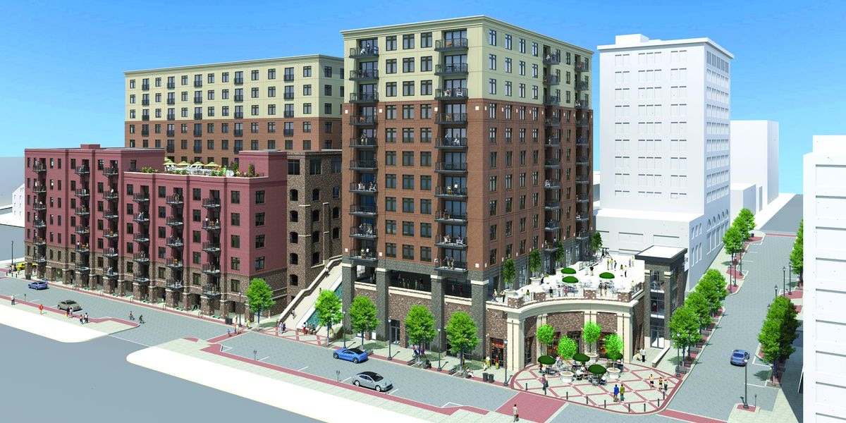 River Place development in downtown Wilmington on track for completion in 2020