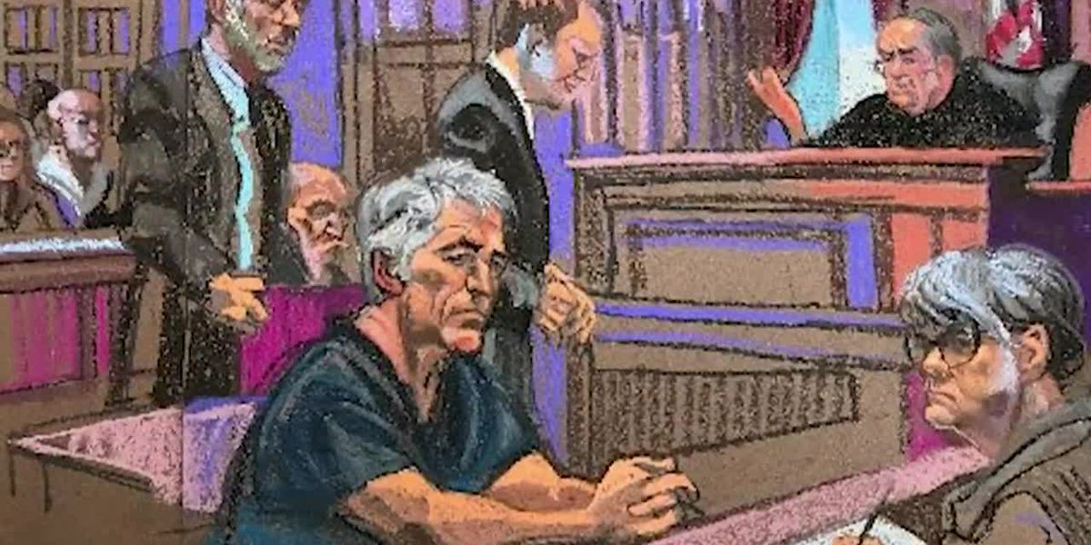 Jeffery Epstein accusers face him in court