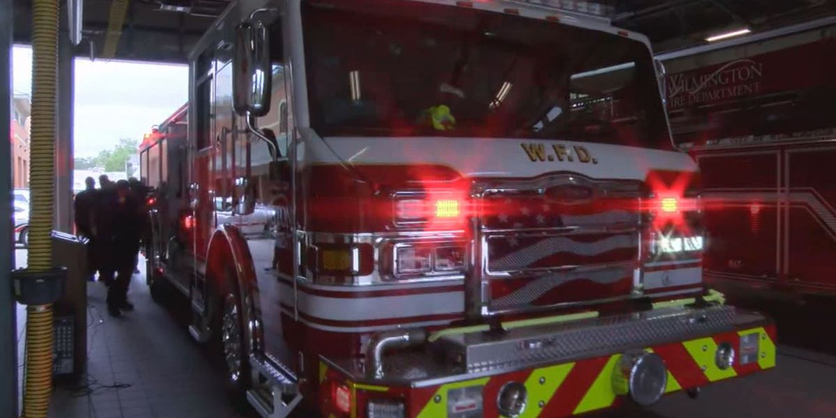 Fire crews respond to gas leak from propane tank