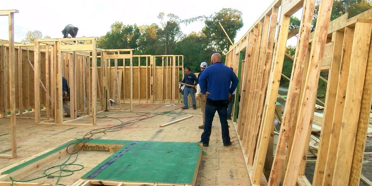 Cape Fear Habitat for Humanity builds new home in just 30 hours