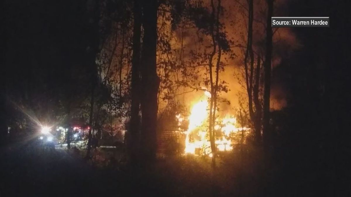 Winnabow house fire started in trash can outside, then spread to home