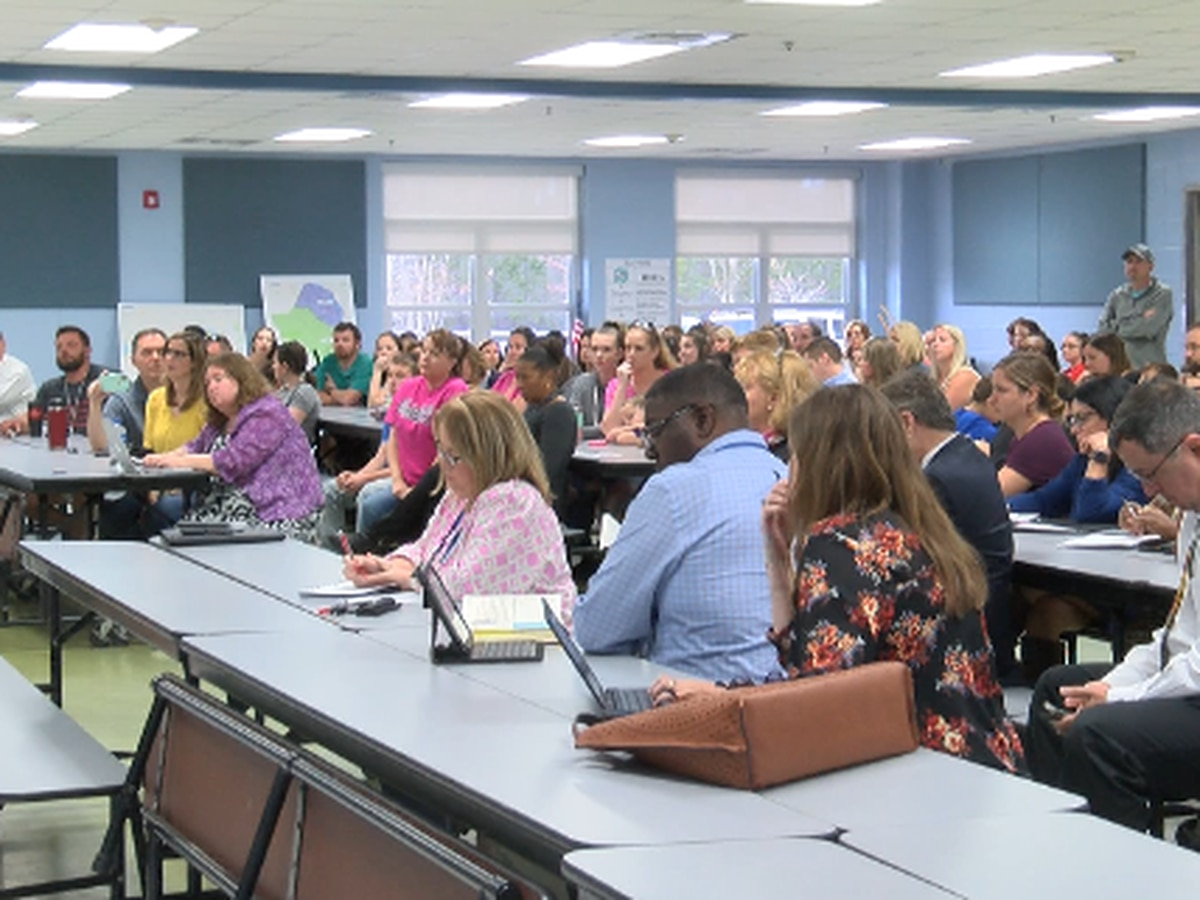 Brunswick Co. parents concerned about potential shift in school lines, lack of transparency from school board
