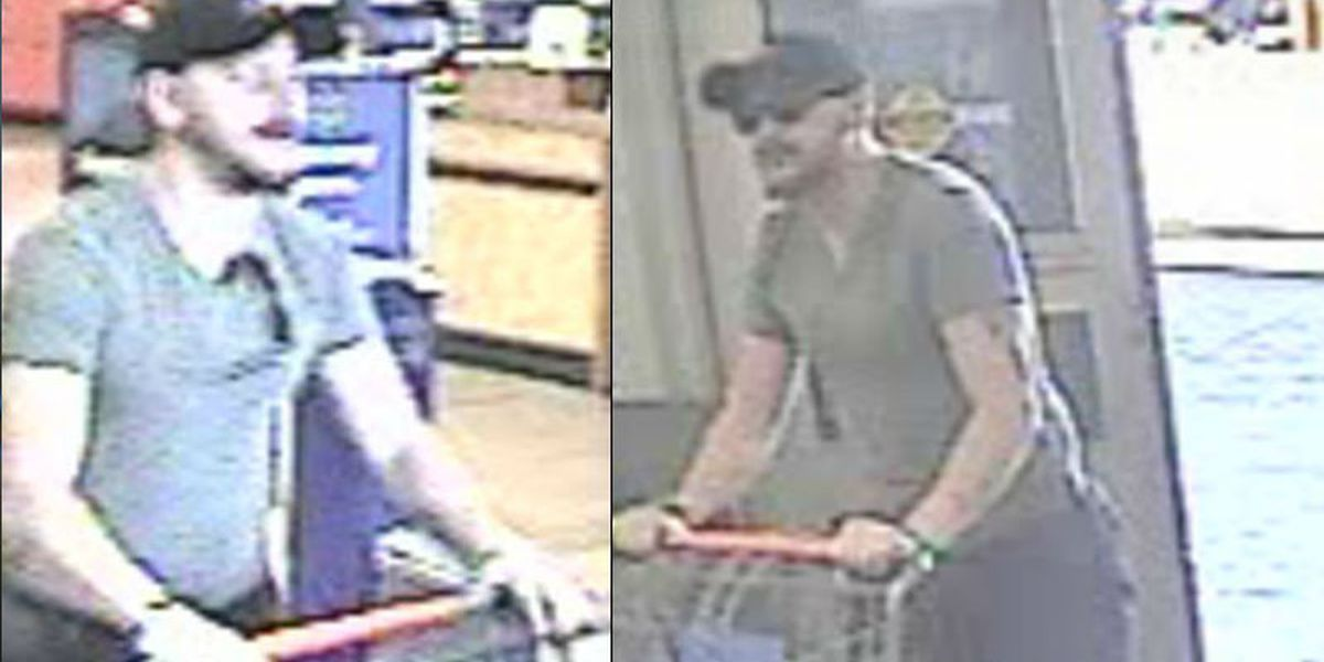 Leland police looking for man in connection to Walmart thefts