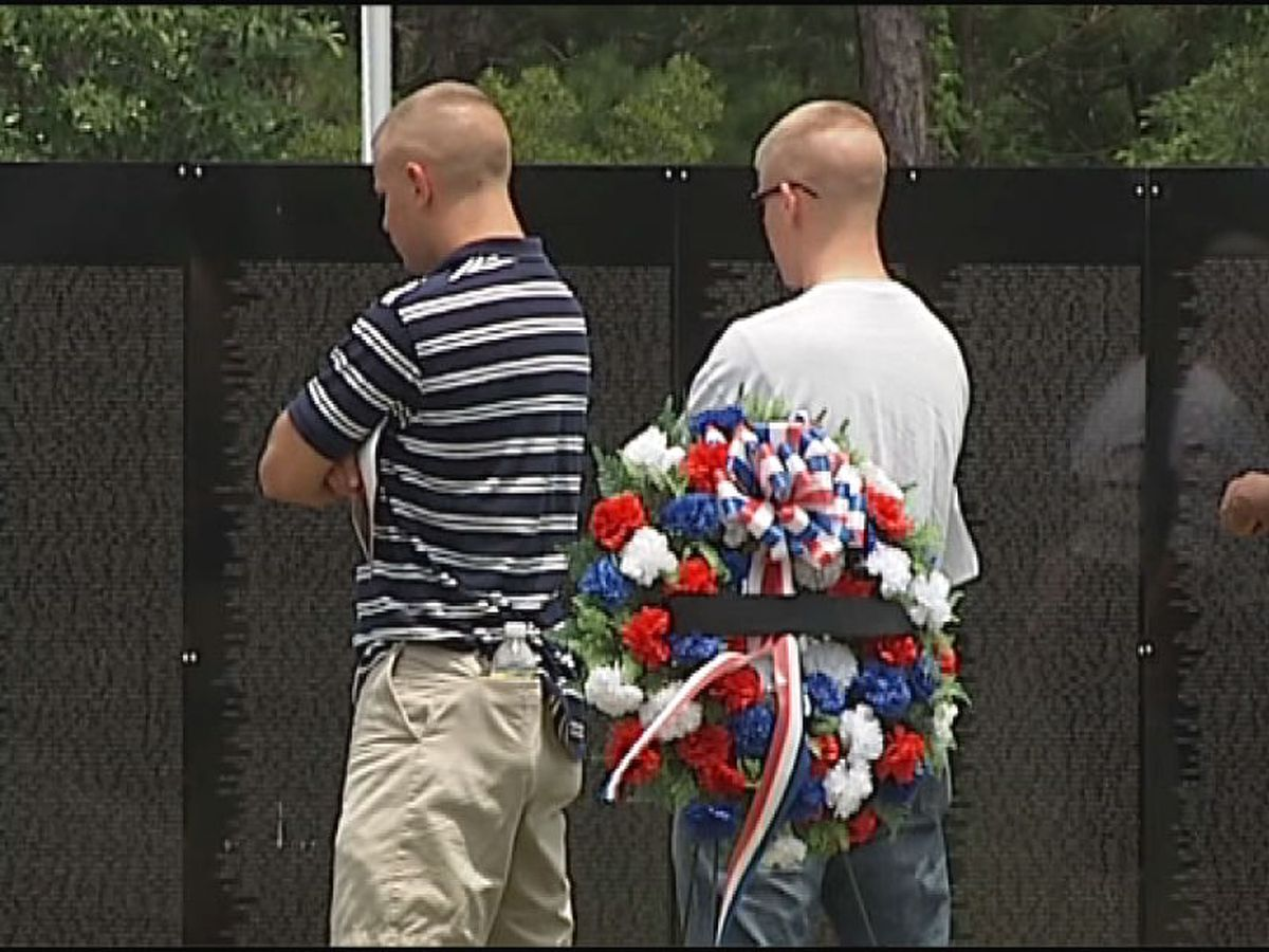 Vietnam Traveling Memorial Wall to make a stop in Wilmington this week